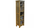 MISSION - Wooden 5 Tier Storage Shelves - Natural