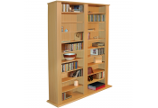 GENESIS - Multimedia 1060 CD / 420 DVD Blu-ray Storage Shelves - Beech