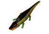 CROCODILE - Retro Tin Wind Up Clockwork Collectable Ornament