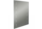 STARLIGHT - LED Illuminated 80 x 60cm Rectangular Wall Mirror with Demister and Dimmer