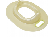 BABY - Toilet Trainer Potty Seat - Bulk Pack of 30 - Ivory / Green