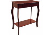 KADOKA - Wooden Console / Hallway Table with Storage Drawer - Cherry