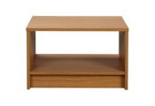 BRIDLINGTON - Wood Effect Side / End / Bedside Table - Oak