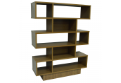 WATSONS - Geometric Display Storage Shelving - Oak