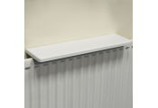 Chunky Over Radiator Shelf 60cm / 2ft  - White