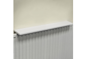 Chunky Over Radiator Shelf 90cm / 3ft  - White