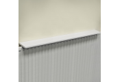 Chunky Over Radiator Shelf 120cm / 4ft  - White