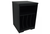 AUDIO - Turntable / LP Record / Vinyl Storage Side End / Bedside Table - Black