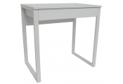 LOOP - Compact Office Workstation / Computer Desk / Dressing Table - White