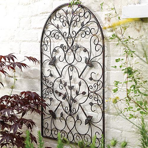 Metal Garden Art Ideas Photograph SPANISH Decorative Met